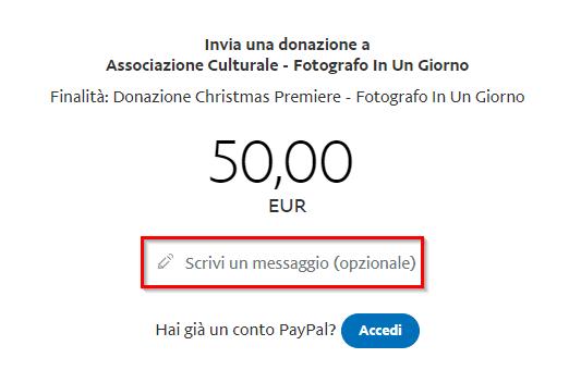 Donazione - No PayPal - Dati Destinatario (2)